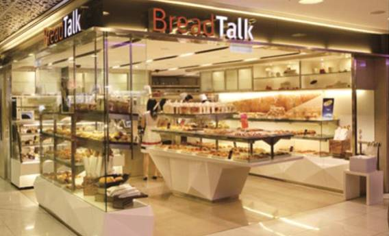 Restaurant and Retail Store More than 500 units of BreadTalk Store breadtalk